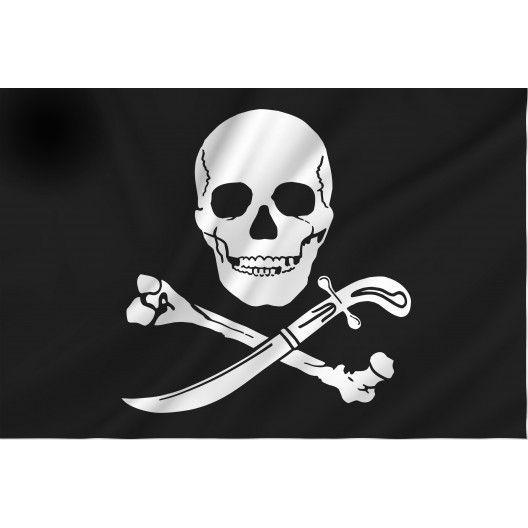 Kleurplaten Piratenvlag.Piratenvlag Piraten
