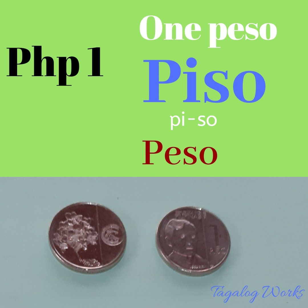 Philippine money in Tagalog. (With images) Online