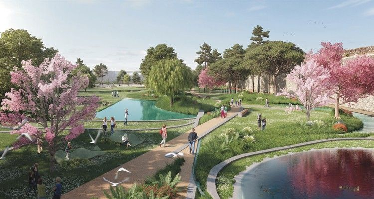 OBR with Michel Desvigne Wins Competition to Design New Central Park in Prato, Italy | ArchDaily
