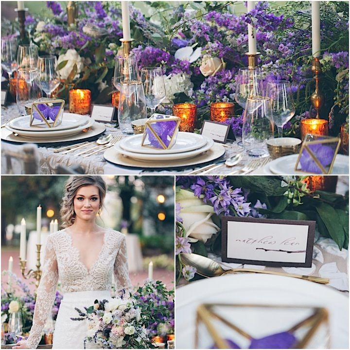 Purple Wedding Ideas With Pretty Details: Southern Charm: Flawless Alabama Wedding Inspiration