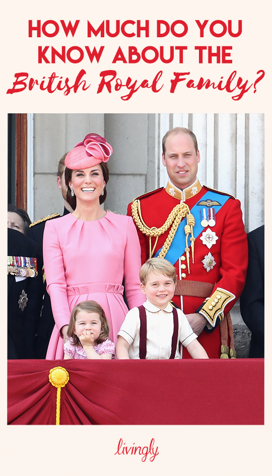 How Much Do You Know About The British Royal Family? in 2019