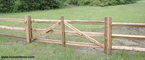 Hoover Fence Wood Split Rail Gates Western Red Cedar W Steel Frames Wood Fence Split Rail Fence Front Yard Fence