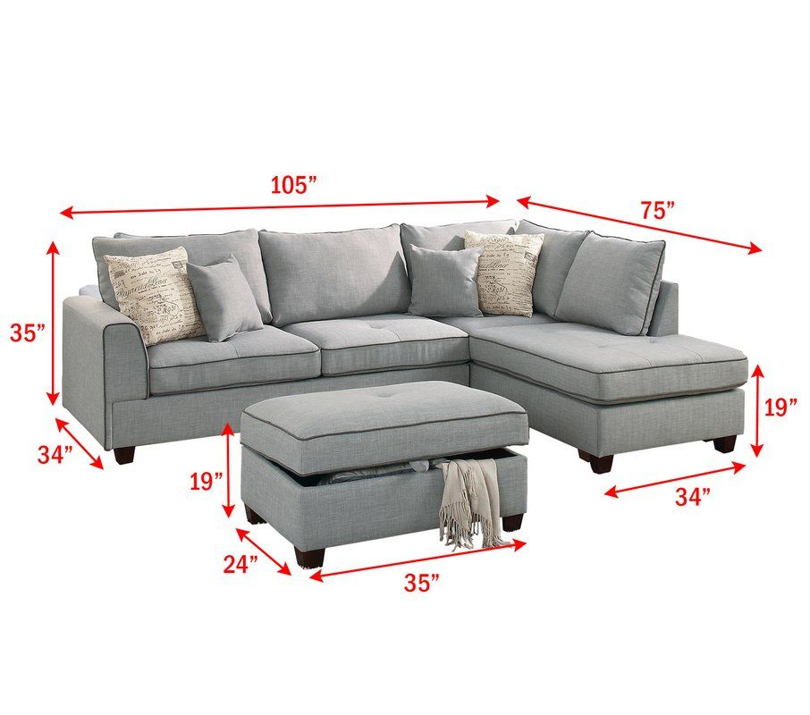 36+ Malta reversible sectional with ottoman ideas in 2021