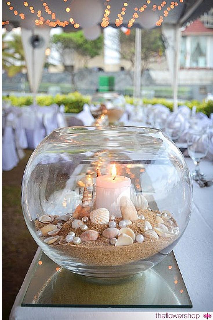 Beach Themed Wedding Decor. Location: The Kingsbury, Sri Lanka  #SriLankanWeddings #BeachWedding