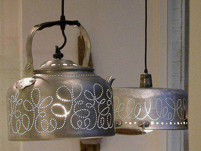Bonitas lámparas para la cocina