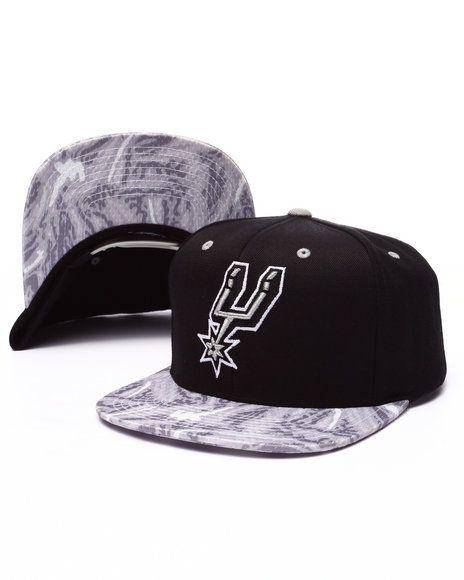 Mitchell   Ness - San Antonio Spurs Team Color Stroke Camo Snapback ... fac96e35ec8