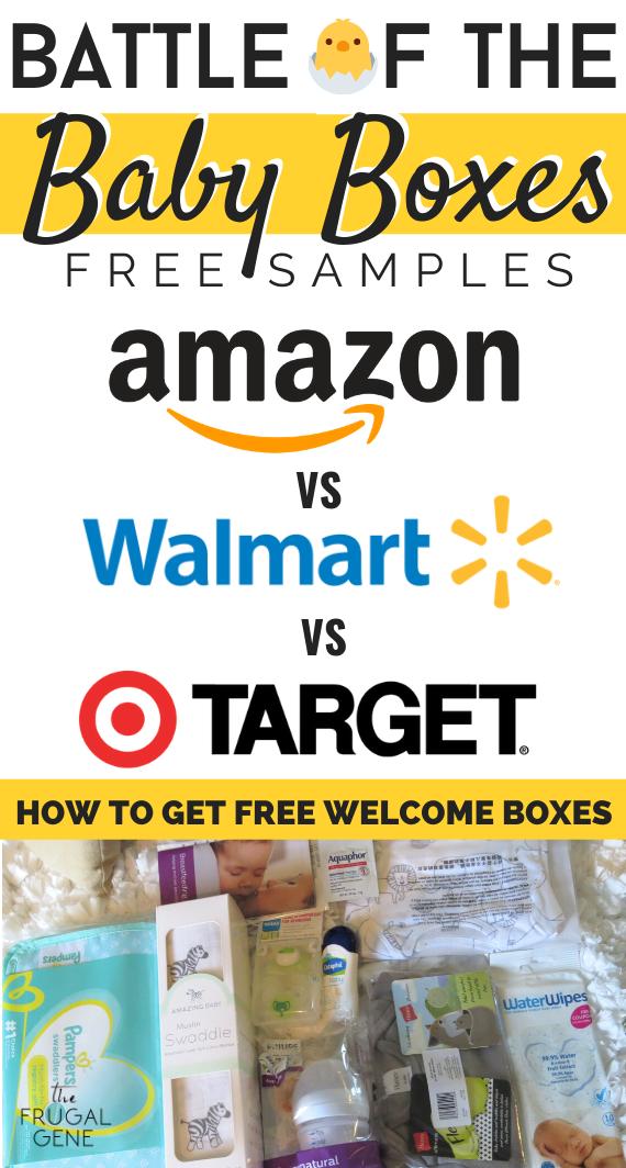Battle of Baby Boxes Amazon vs Walmart vs Target Freebie