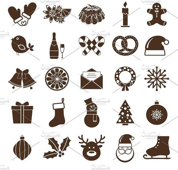 Nightmare Before Christmas Icons.Christmas Icons Christmas Icons 5 00 Christmas Icons