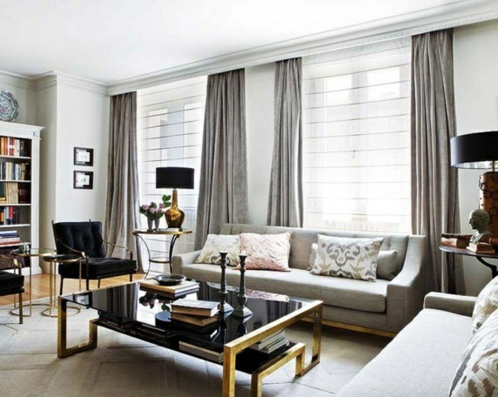 designer vorhänge wohnzimmer  Curtains living room, Modern living