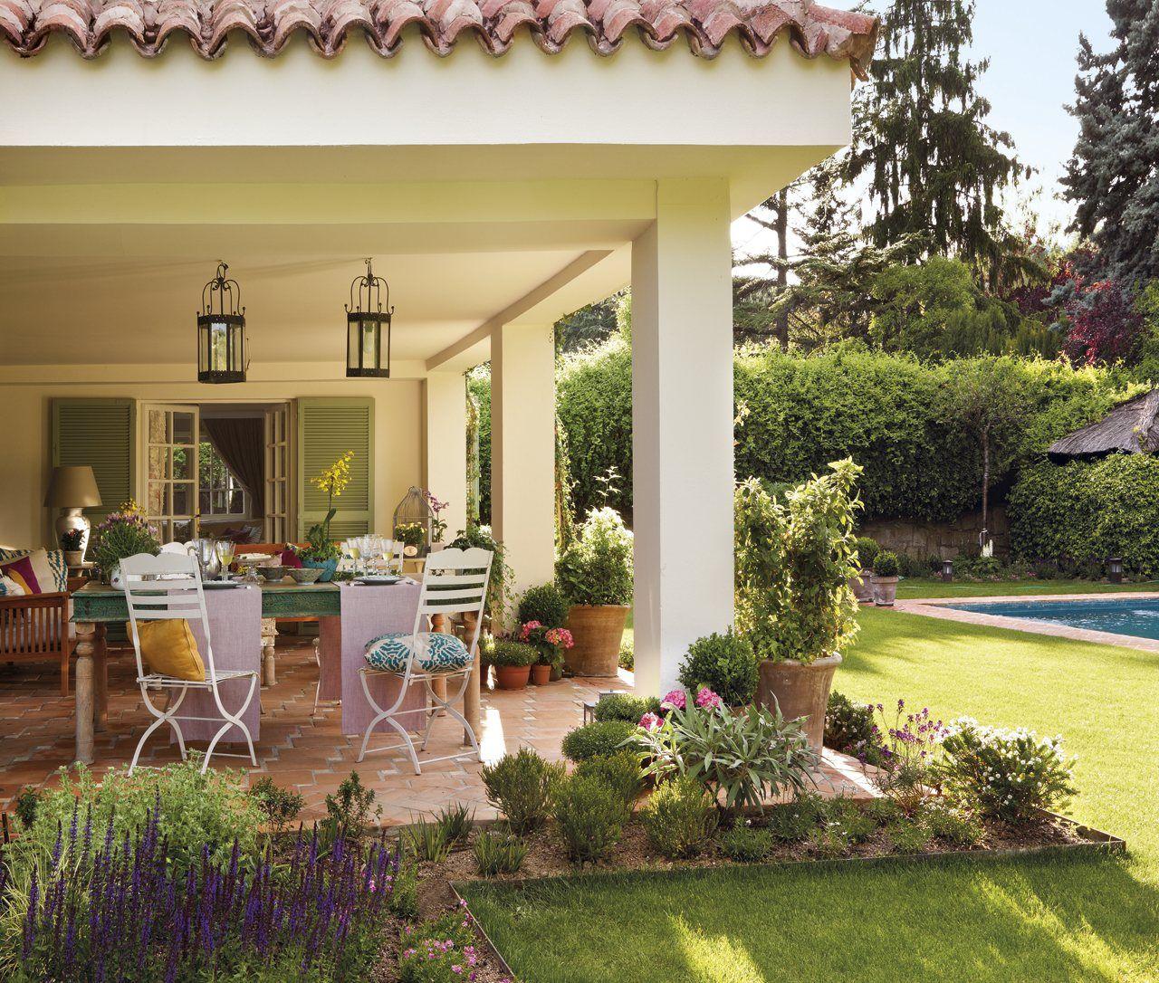 La casa de los mil y un detalles est en madrid pero no - Terraza casa de campo ...