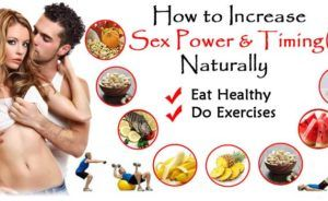 What to eat to increase sex power