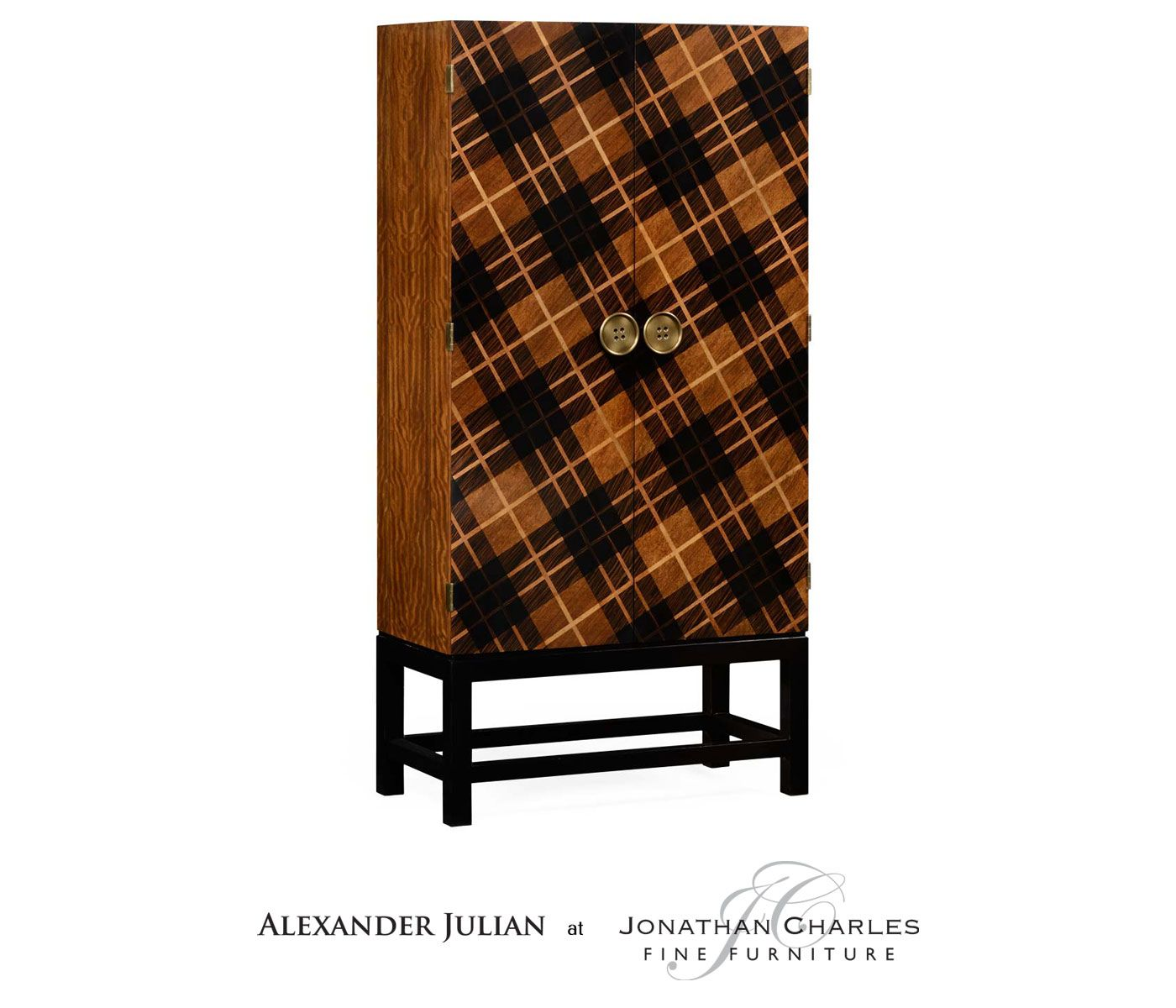 Tartan Haberdashery Chest Satinwood Necktie Coffee Table #hpmkt Extraordinary Alexander Julian Dining Room Furniture Decorating Inspiration