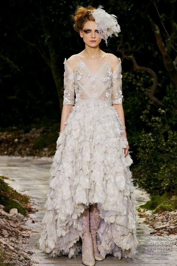 Chanel | Bridal Gown--High-Low | Pinterest | Coco chanel, Gowns and ...
