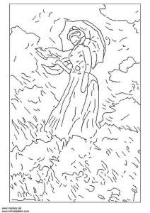 Free Printable Famous Art Colouring Pages For Kids Updated Art Children Kids Colouring Famous Art Coloring Famous Art Coloring Pages