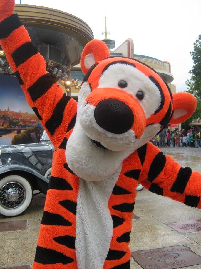 Tiger - Stars 'n Cars, Disneyland Paris