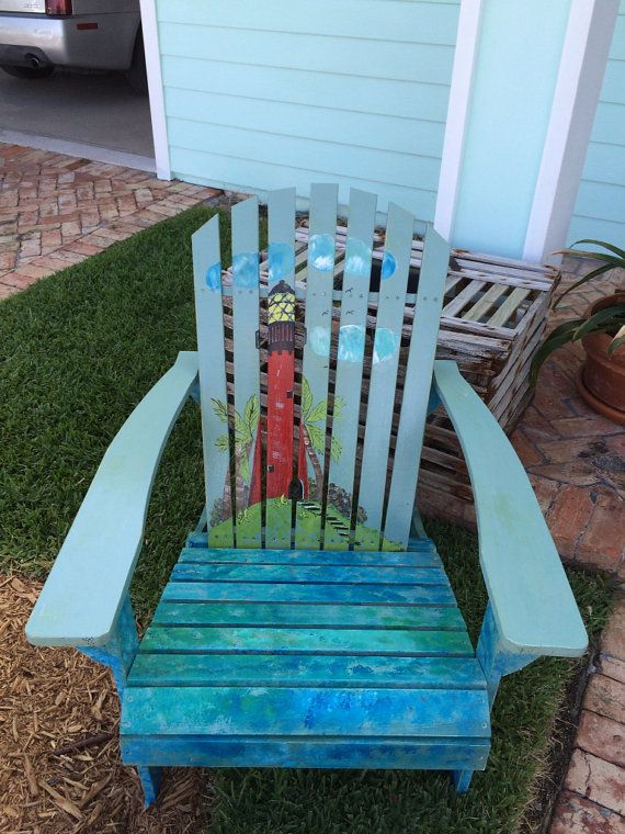 Adirondack chair I would like to do something similar except with a