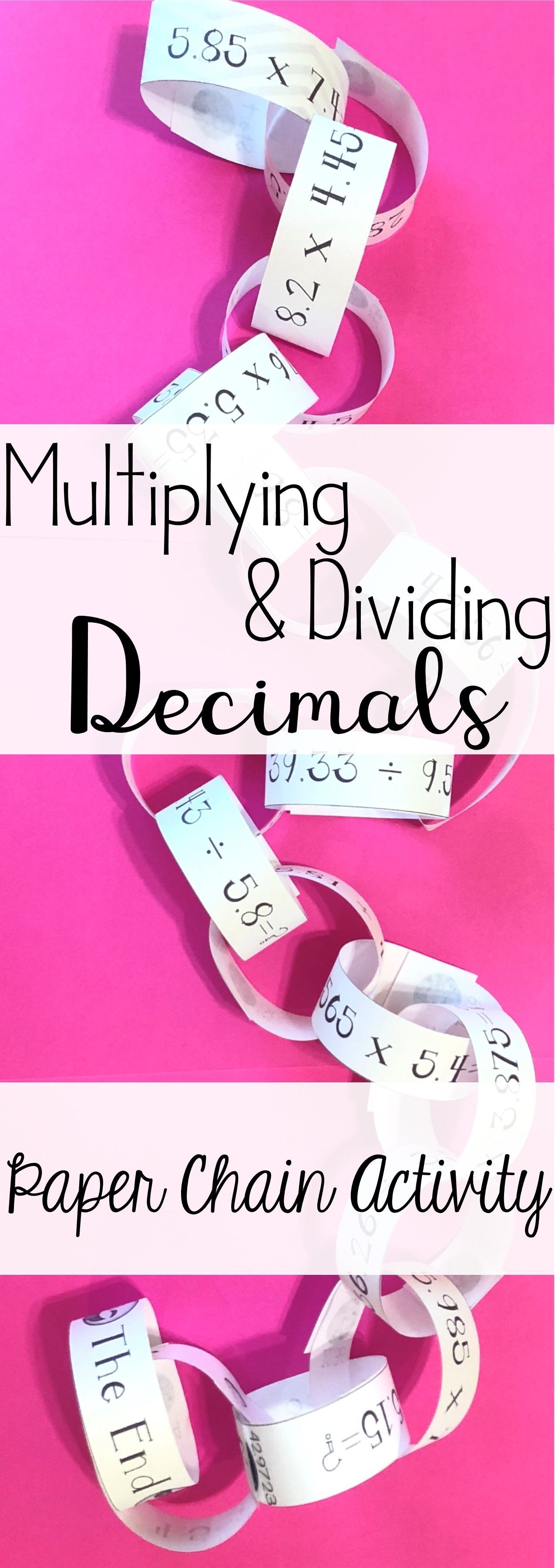 Multiplying Amp Dividing Decimals