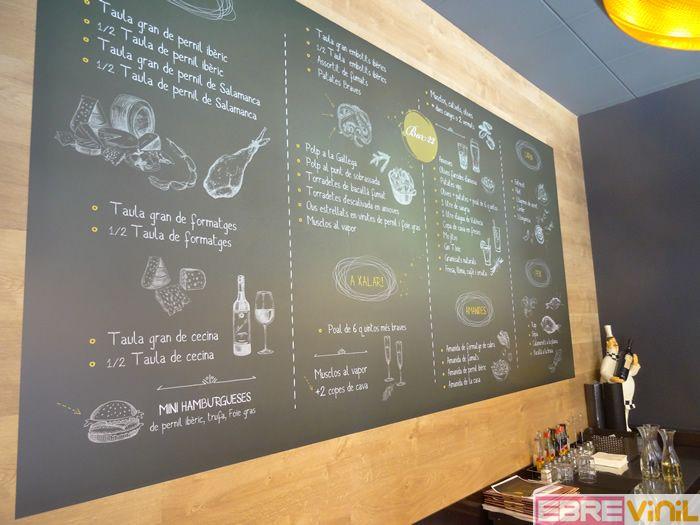 C mo decorar las paredes de un bar con vinilos decorativos - Decorar un bar de tapas ...