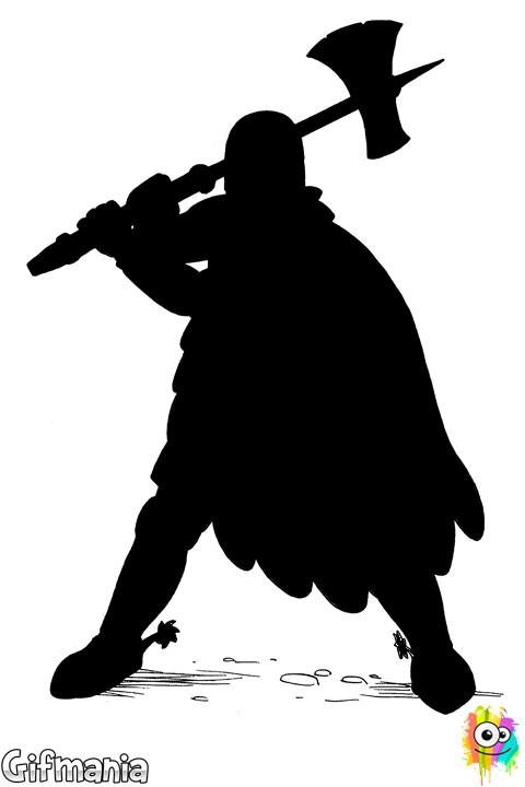 soldado con hacha #soldado #hacha #dibujo | colorbook | Pinterest ...