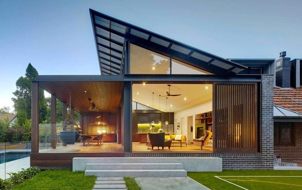 Shed Roof Designs In Modern Homes In 2020 With Images Modern Roof Design Shed Roof Design Facade House