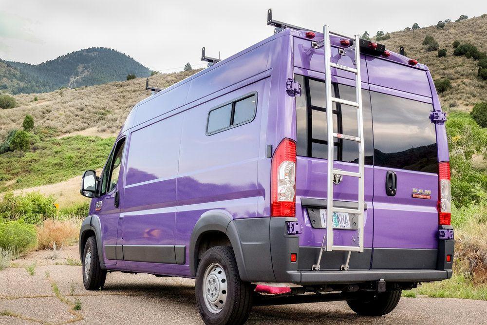 Dandy Vanlife Customs 136 Promaster Van Conversion Van Life Custom Camper Vans Custom Vans