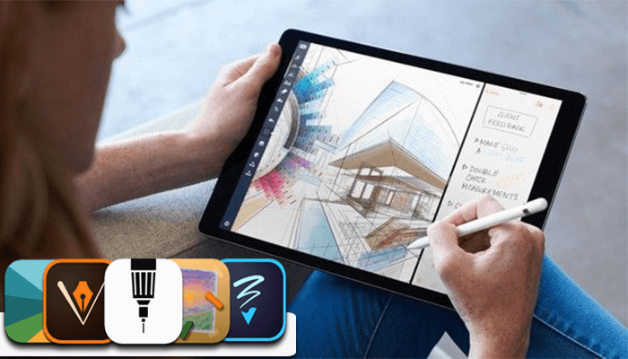 best drawing apps ipad pro drawing apps iphone art apps ios