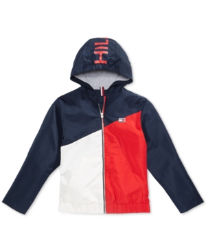 13286e79 Tommy Hilfiger Big Boys Lucas Jacket - Red L (16/18)   Products ...