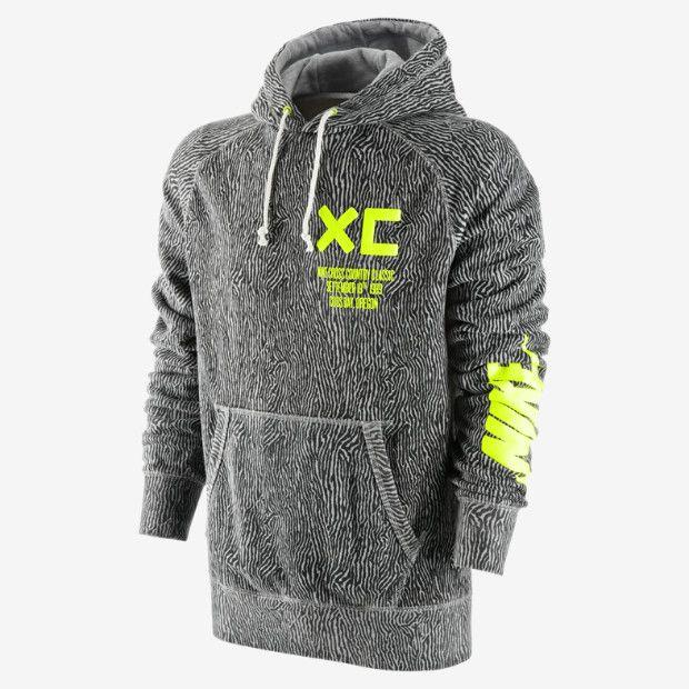 nike roshe run nm fb grey camo hoodie