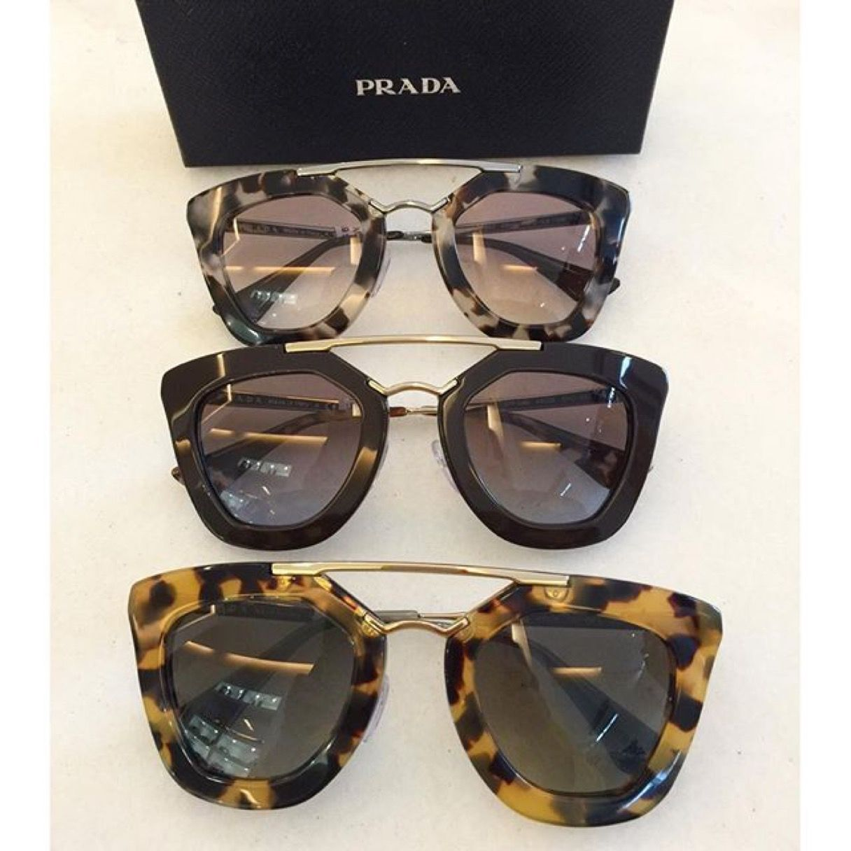 7e4f3d582 Rayban Goldtone & Brown Aviator Sunglasses #zulilyfinds Prada Cinema