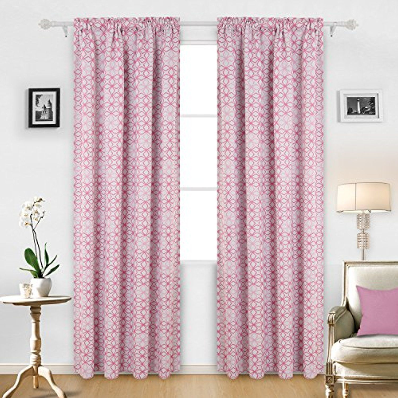 Deconovo Rod Pocket Thermal Insulated Curtains Room Darkening
