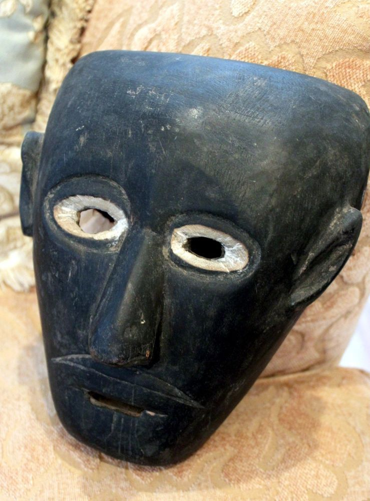 Extremely Old Museum Piece * Cherokee Mask * Native American Antique *