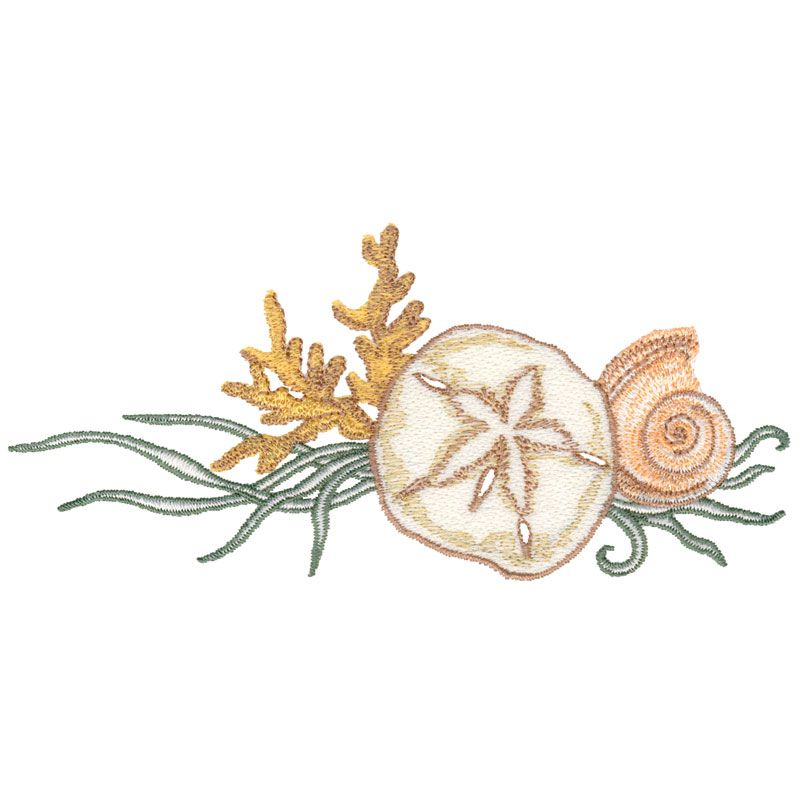 GOLD METALLIC- Iron On Embroidered Patch BEACH -OCEAN STARFISH SEA CREATURE
