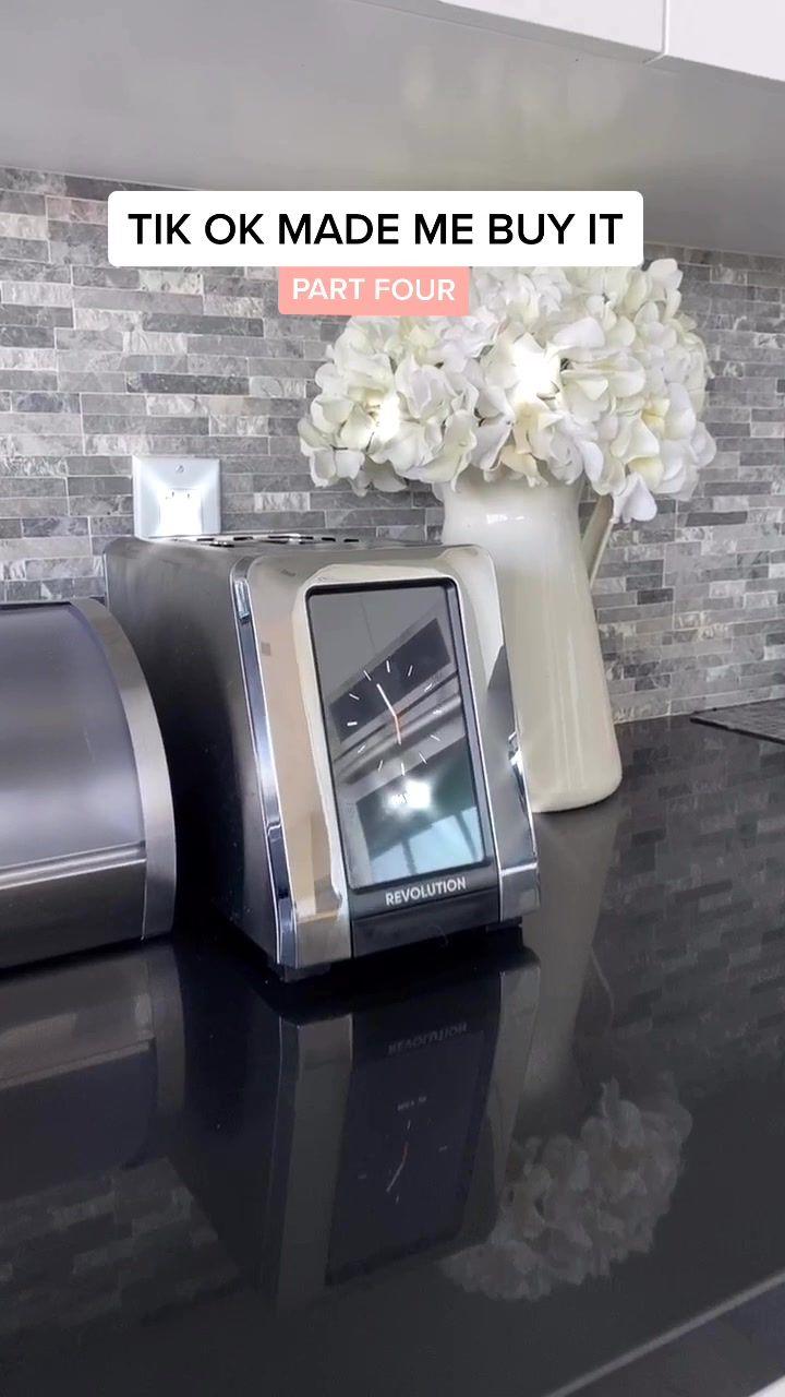 Tik tok made me buy it 😌 Revolution Smart Toaster