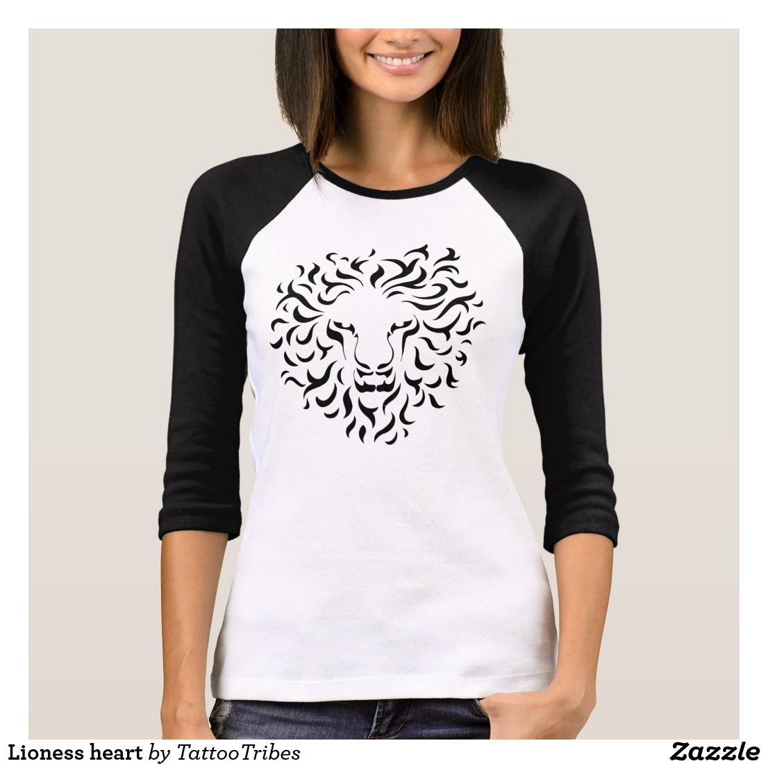 Create your own designs amp sell your design online shirts zazzle - Lioness Heart T Shirt