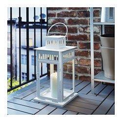 ikea borrby lanterne pour bougie bloc pour une utilisation en int rieur ou lumi re. Black Bedroom Furniture Sets. Home Design Ideas