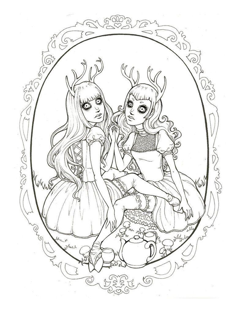 darling deer by raevynewings deviantart grimm fairy tales