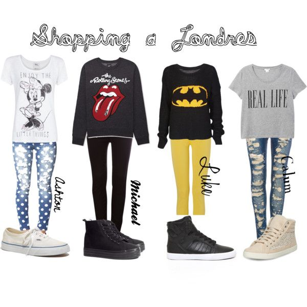 b0e7819acb6f Sazza look at lukes and michaels! 5sos polyvore outfits