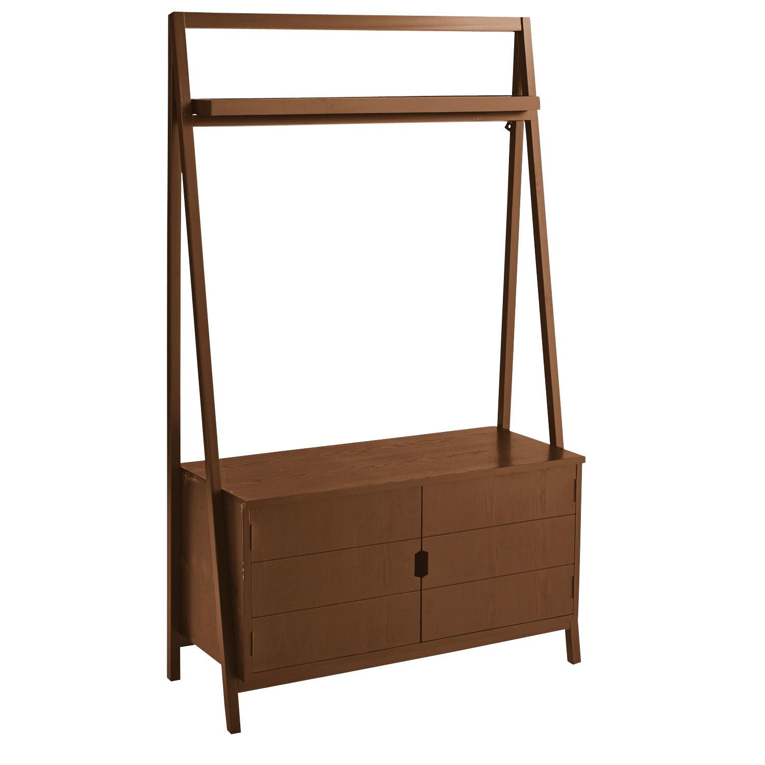 Morgan Tall TV Stand - Tuscan Brown   Pier 1 Imports