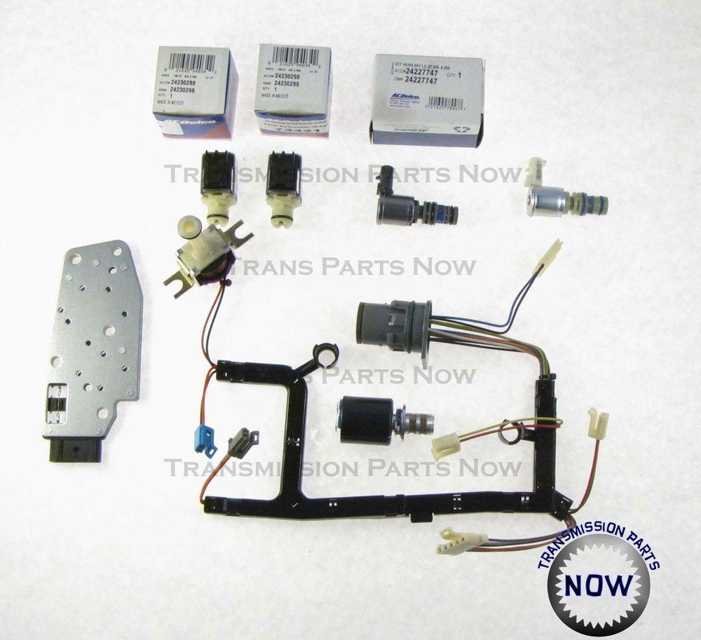 Gm 4l60e Transmission Solenoid Kit Master Epc Shift Tcc Pwm 3 2 1996 02 74420ak Chevy Transmission Gm Transmissions 4l60e Transmission Rebuild