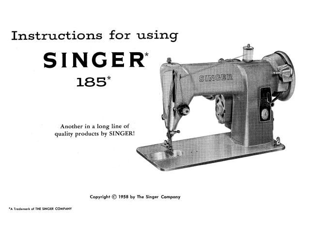 Singer J Sewing Machine Instruction Manual Here Are Just A Few