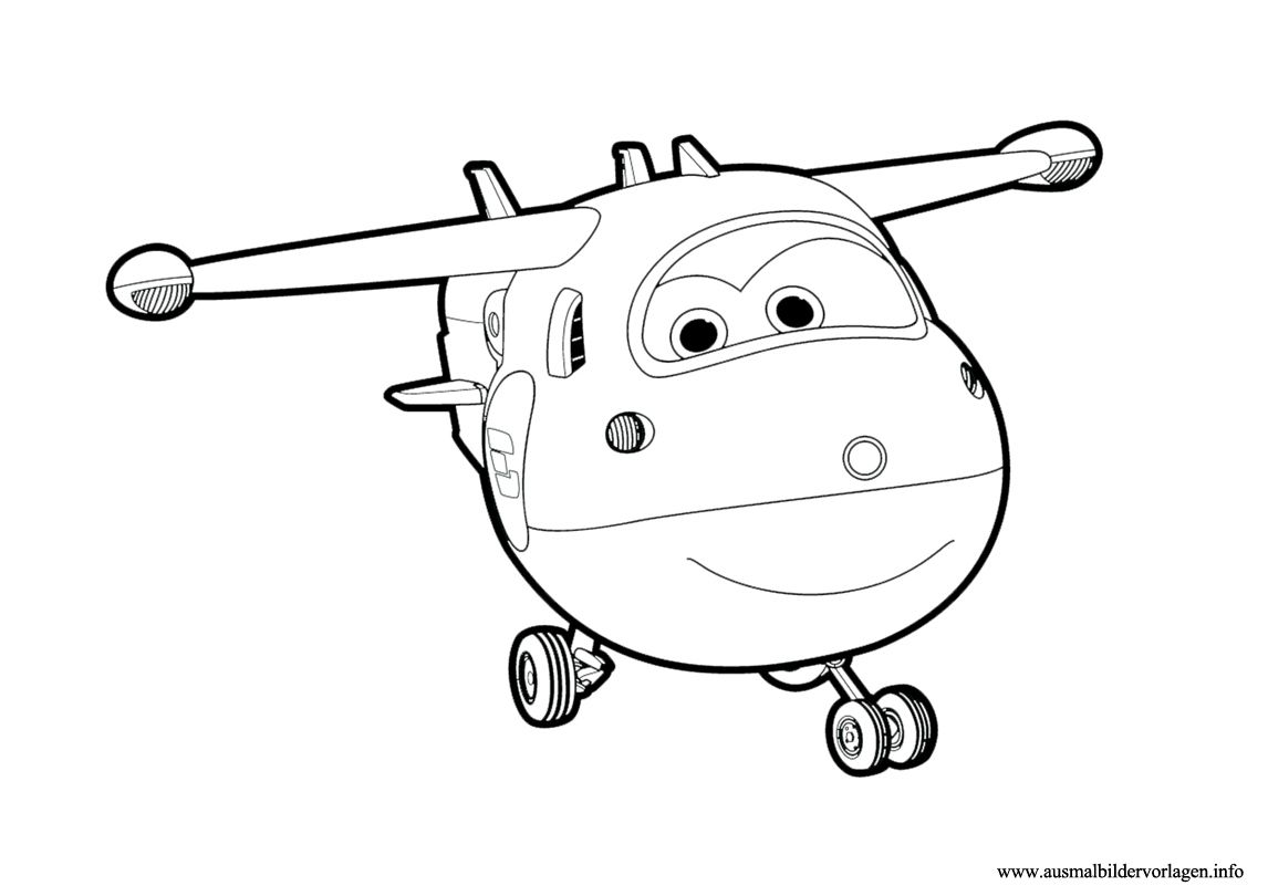 Ausmalbilder Super Wings Einfach | super wings ausmalbilder ...