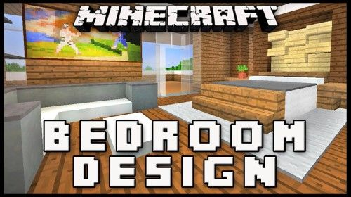 Minecraft: How To Make A Master Bedroom Design (Modern House Build ...