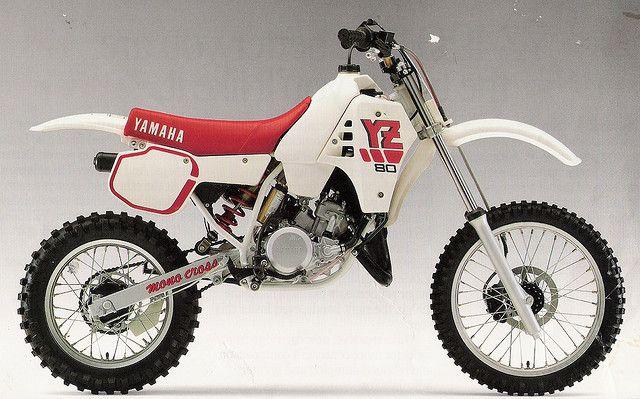 1988 Yz80 Motorcross Bike Yamaha Motocross Moto Bike