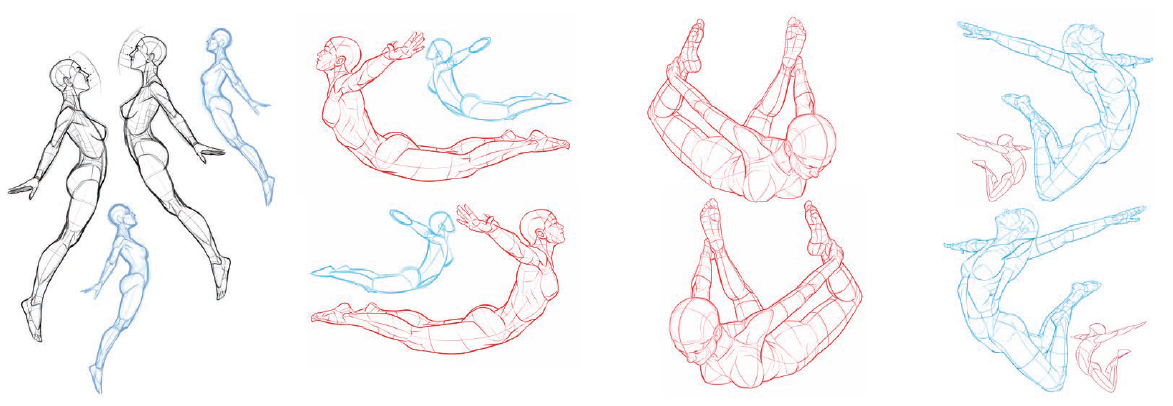Pose Reference Some Of My New Flying Pose References In Book 5 Pose Reference Figure Drawing Poses Drawing Poses
