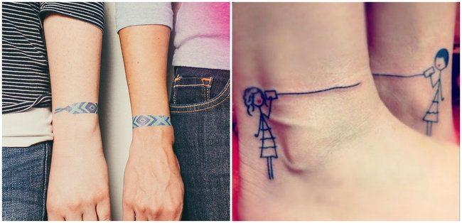 4 Un Tatuaje De Mejores Amigas Bief Mejores Amigos Tatuajes