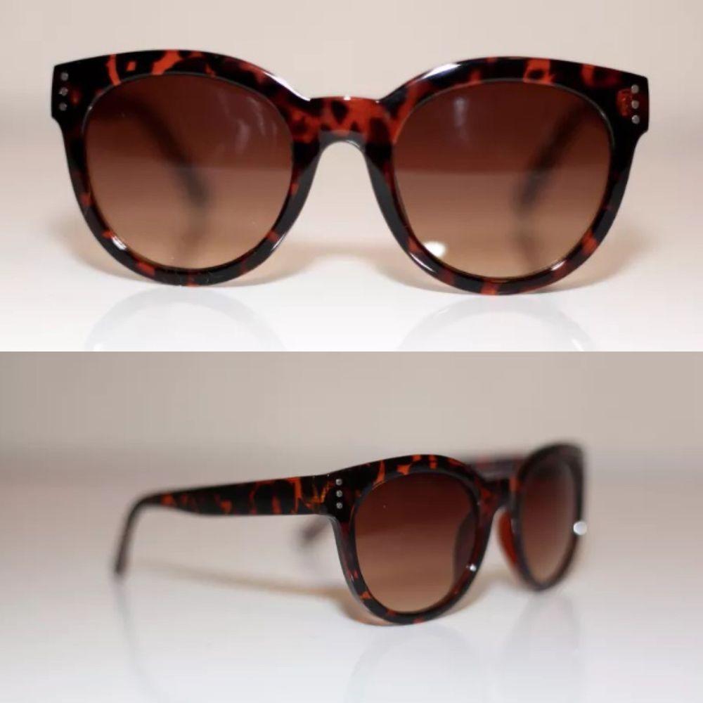 8ea43d59d5d New Tortoise Shell Cat Eye Retro Round Thick Frame Sunglasses Shades 100 UV