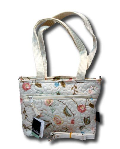 Donna Sharp Quilts Quilted Blush Suzette Jenna Handbag 13683