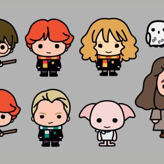 Harry Potter Characters Re Imagined In Adorable New Designs