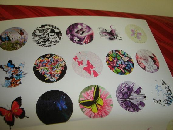 1 circle images full sheets 1087 Lot 1 by Slipscraftstore on Etsy, $36.00