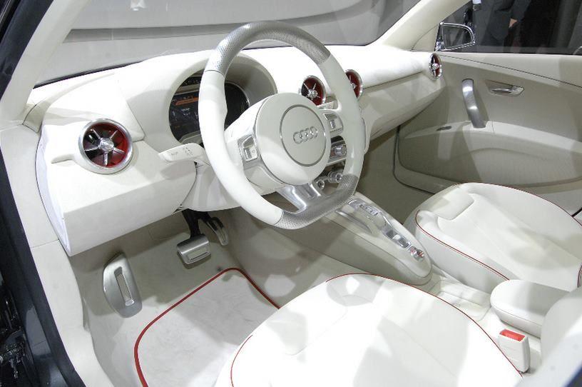 Que Les Parece El Interior Blanco De Este Audi A1 Sportback